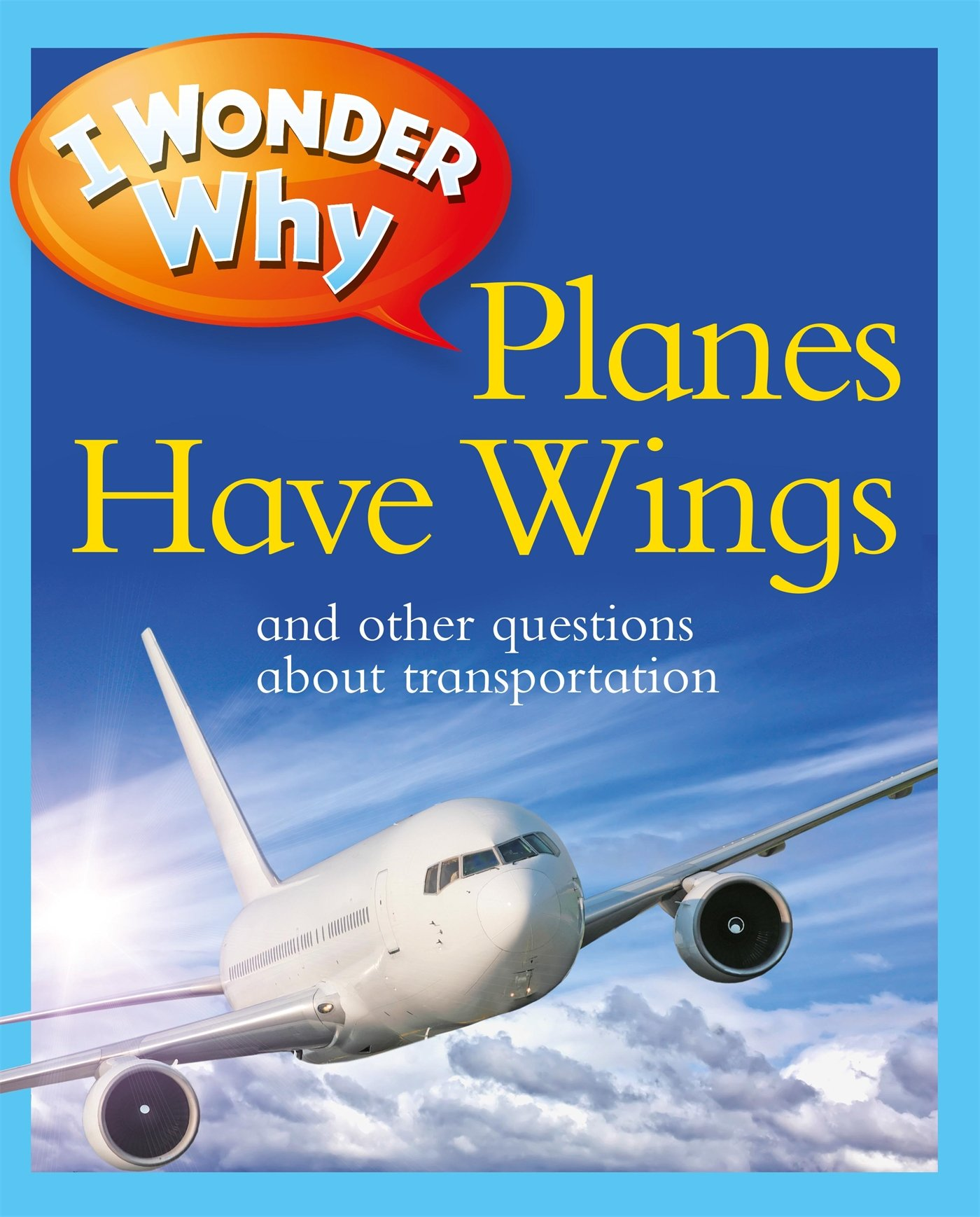 Read Online I Wonder Why Planes Have Wings: And Other Questions About Transportation pdf