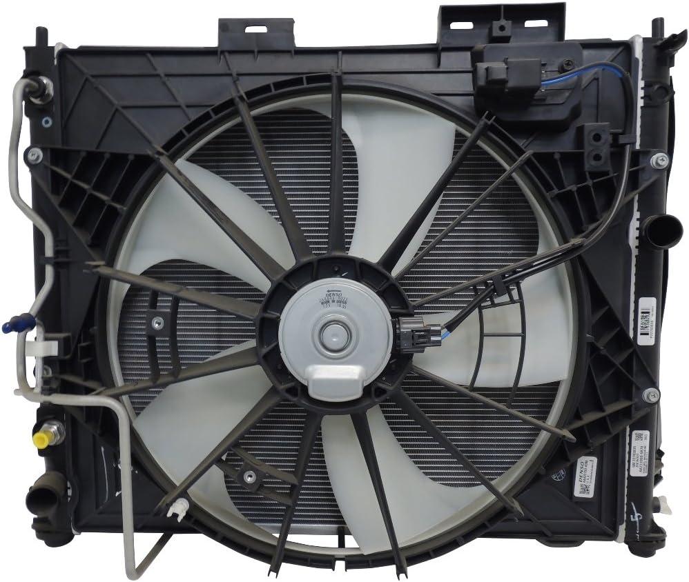 2010 – 14 Cadillac Cts 3.6L Radiador Ventilador condensador Trans Temperatura de aceite 20983746: Amazon.es: Coche y moto