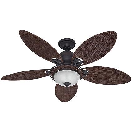 Amazon.com: Hunter 54095 Caribbean Breeze 54-Inch Ceiling Fan with on elevator lighting ideas, pool lighting ideas, bathroom mirror lighting ideas, vanity mirror lighting ideas, makeup mirror lighting ideas,
