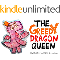 The Greedy Dragon Queen: An adorable bedtime picture story book for children ages 3 to 5 with a very important moral lesson: A read aloud tale, beautifully illustrated with cut-out colored paper.