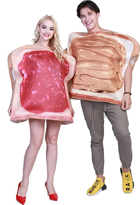 EraSpooky Disfraz Comida para Adultos Desayuno Pan Tostado ...