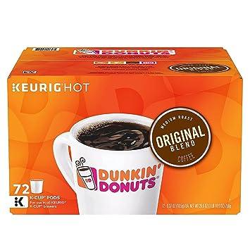 Dunkin Donuts - Juego de cápsulas de café con capacidad ...