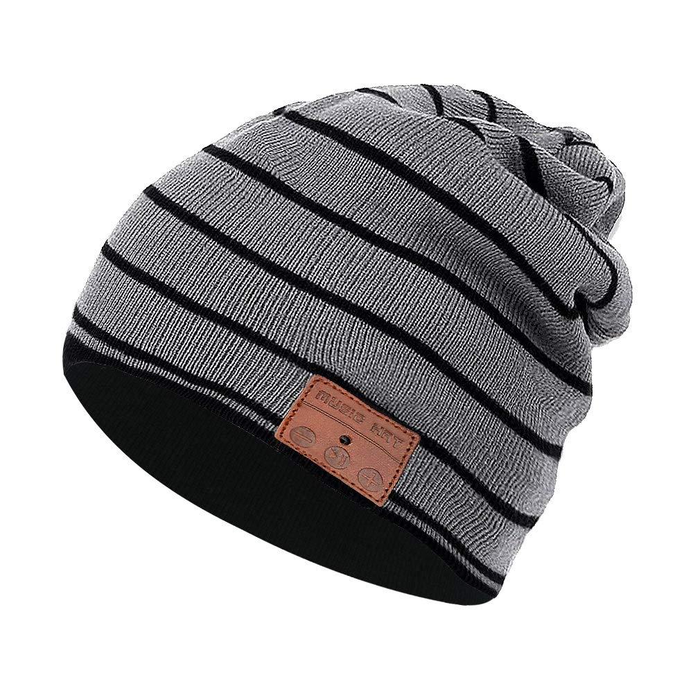 Color You Cuffia Bluetooth Beanie Music Hat Cappello Invernale Lavabile con Cuffia Stereo con Altoparlante Stereo per la Corsa, Sci, Pattinaggio, Regali di Natale per Uomo Donna