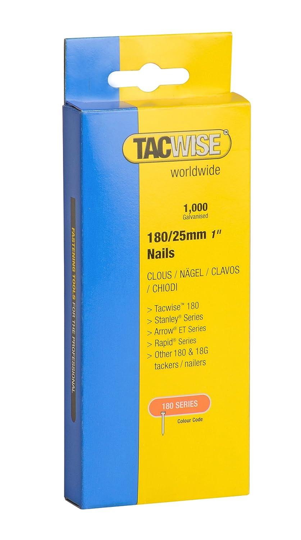 Tacwise TAC0364 Clavos de 180 x 35 mm 35 mm Set Piezas caja de 1000 unidades