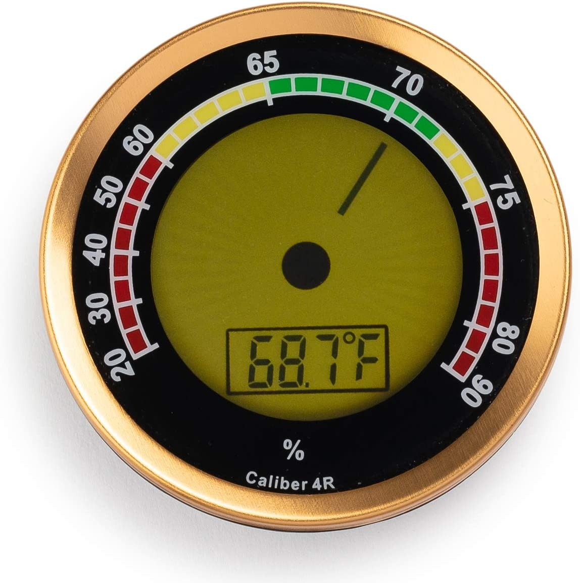 Caliber IV Digital Instrument Case Electronic Hygrometer Thermometer Western