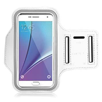 finest selection f1302 ec31a Galaxy S7 Edge Armband, MoKo Sweatproof Sports Armband Exercise Running Arm  Band Case for Samsung Galaxy S7 Edge, with Key Holder, Great Earphone ...