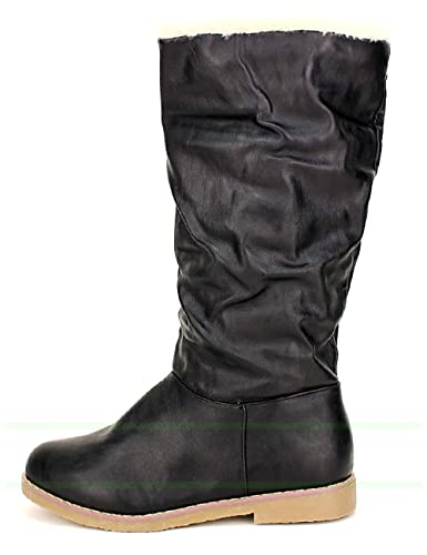 b37359ac078c5 Cendriyon, Botte Fourrée Black CELIFA Chaussures Femme  Amazon.fr ...