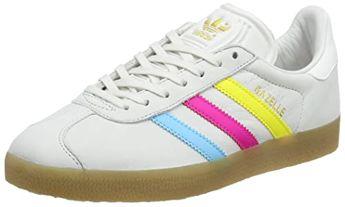 adidas Gazelle, Scarpe Running Uomo, (Vintage White-st/Bright Cyan/