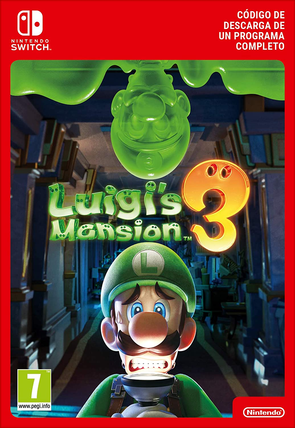 Luigis Mansion 3 Standard | Nintendo Switch - Código de descarga ...