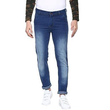 eb86f4883d1 Urbano Fashion Men s Light Blue Slim Fit Stretchable Jeans (neweps-lblu-28-