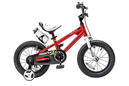 side facing red royalbaby bmx