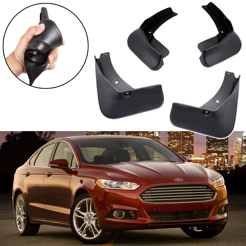 SPEEDLONG 4Pcs Car Mud Flaps Splash Guard Fender Mudguard for Ford Fusion 2013 2014 2015 2016