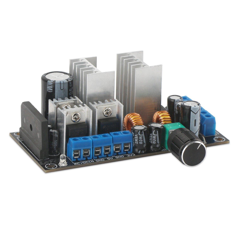 Drok Lm2596 Buck Converter Dc35v Ac 28v To Dc 5v 33v 9v Simple 9volt Positive Voltage Regulator 15a 3a Multiple Output Stabilizer Power Supply Module Home Audio