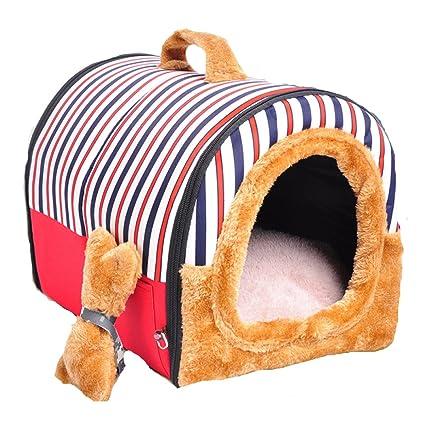 Cama De Perro LDFN Kennel Puede Cama Extraíble Olla Perro Grande Perro Mascota Suministra Cuatro Estaciones