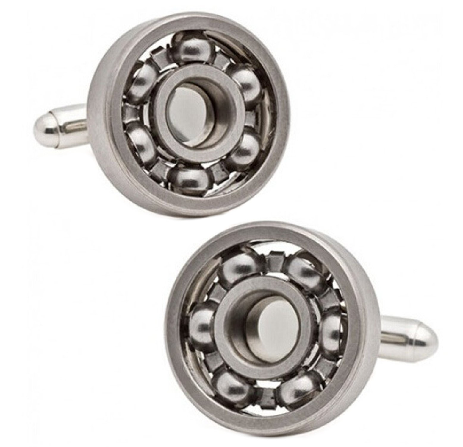 Unique Functioning Ball Bearing Engineering Mechanic Gift Cufflinks Direct (Cufflinks With Gift Bag)