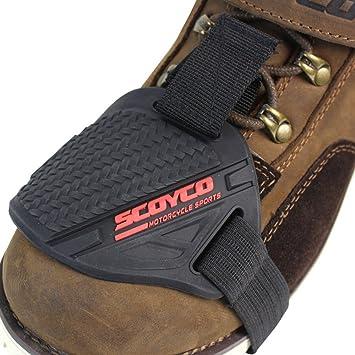 f732aa3db7a1a IRON JIA S Zapatos de motocicleta Protector Gear Shifter Calzado Accesorios  para botas Cover Caucho resistente al