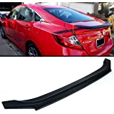 FOR 2016-2017 10TH GEN HONDA CIVIC LX/EX/TOURING 4DR SEDAN JDM SPORT TRUNK LID SPOILER WING