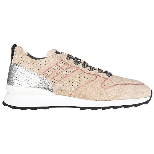 Hogan Rebel Running - R261 Zapatillas Deportivas Mujer Rosa: Amazon.es: Zapatos y complementos