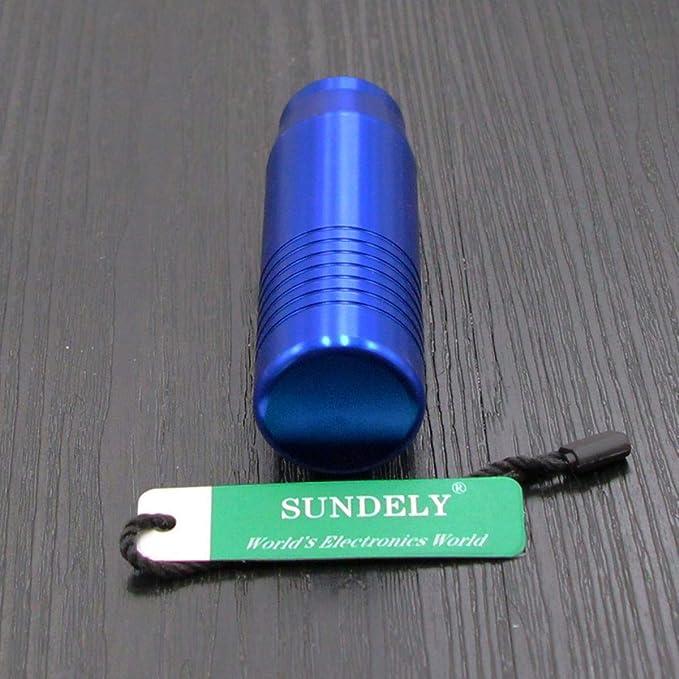 Silver, 85mm // 3.3 SUNDELY/® Car Universal Gear Shift Lever Knob Stick Head Shifter Gearstick Aluminum Alloy Manual Transmission
