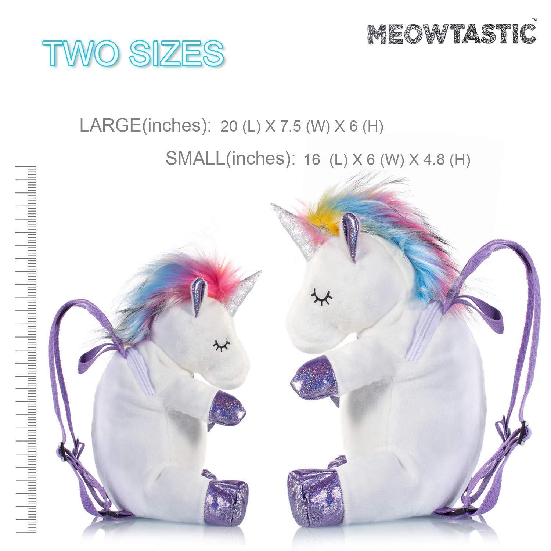 Sac /à Dos pour Enfant Super Mignon Mini Licorne pour Filles Enfants,40cm