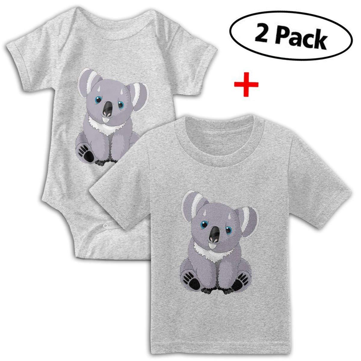 Cute Australia Koala Bear Babys Boys /& Girls Short Sleeve Bodysuit Outfits and Tshirt