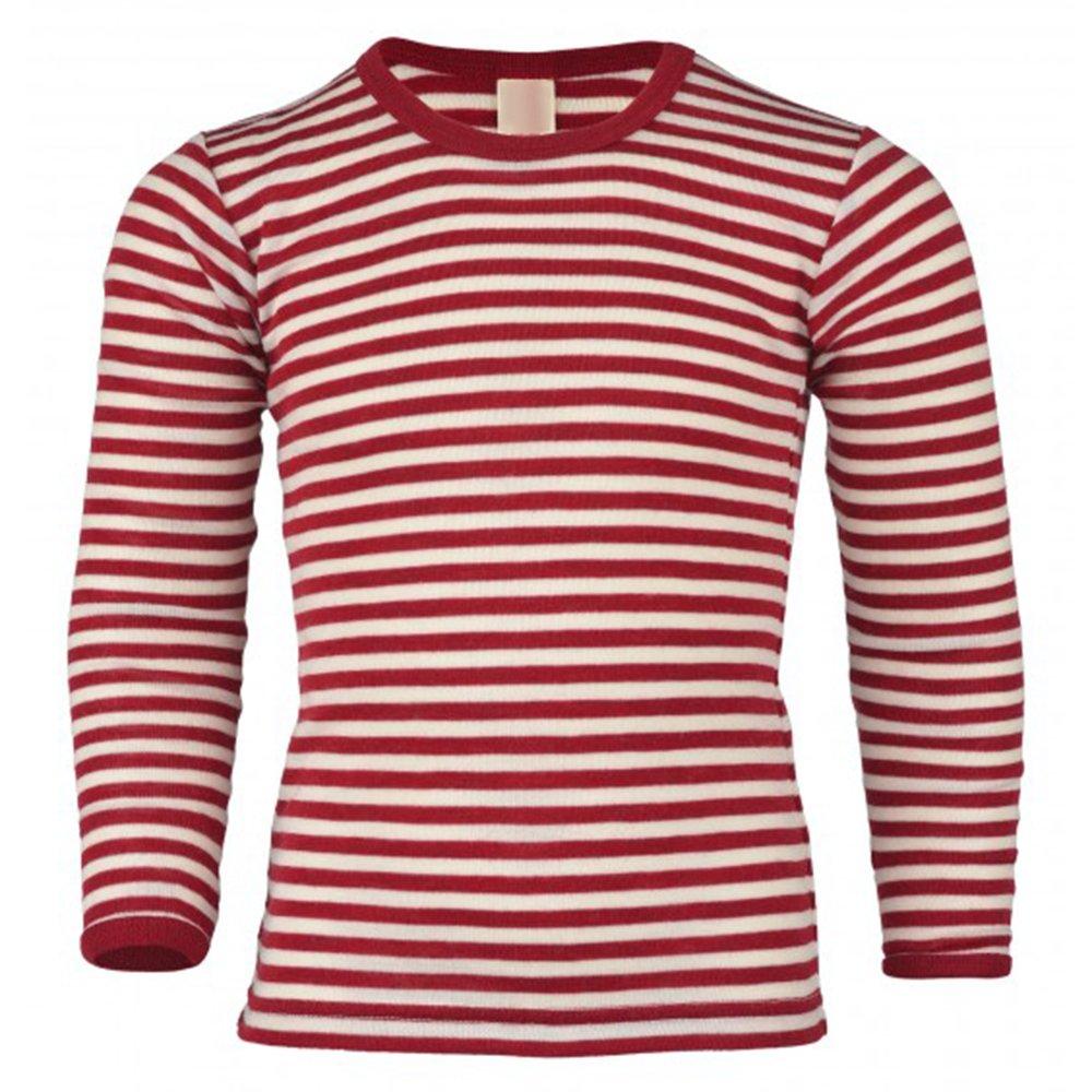 Kids Long Sleeve Thermal Shirt Base Layer or Pajama Top, 100% Organic Merino Wool, Sizes 2-10 years Engel
