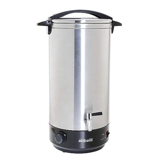 Olla eléctrica 22 litros heißgetr änke dispensador + Dispensador de agua caliente Ideal como hacer caja