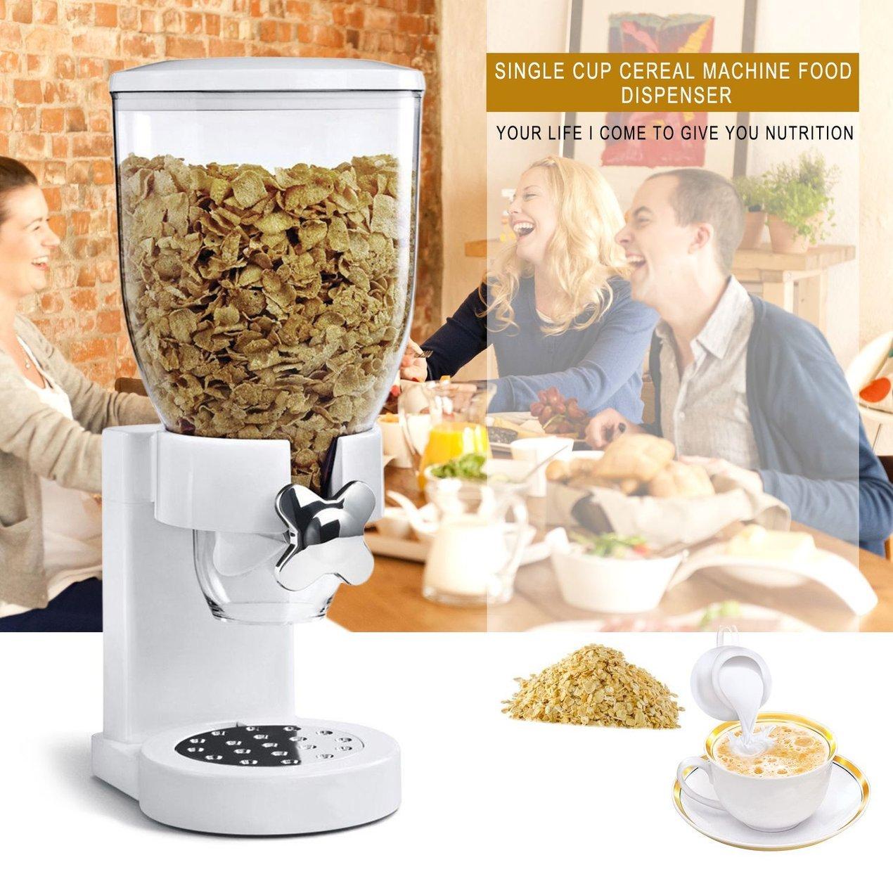 Dispensador de alimentos Dispensador de alimentos secos, Una cámara de almacenamiento hermético de la cocina, Dispensador de alimentos para la mezcla de ...