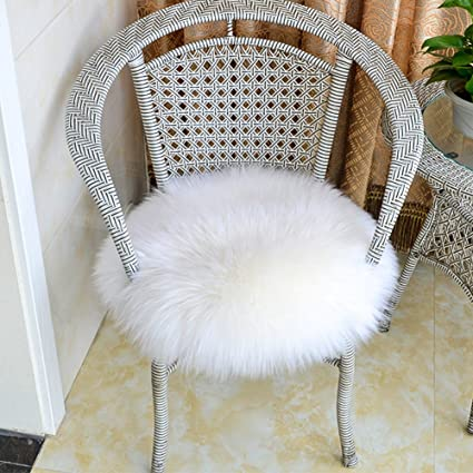 GWL Super Soft Shaggy Faux Fur Sheepskin Chair Couch Cover Area Rug For  Bedroom