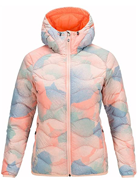Peak Performance Damen Outdoor Jacke Helium Hood Print