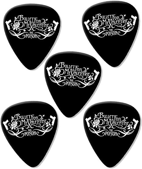 Bullet For My Valentine Poison Premium Guitarra Púa para guitarra ...