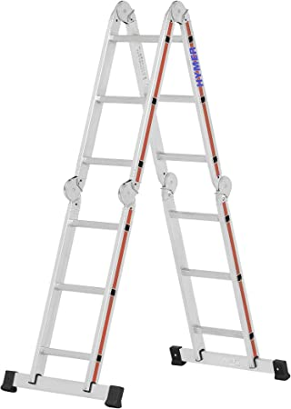 Hymer 404312 - Escalera multifunción: Amazon.es: Bricolaje y herramientas