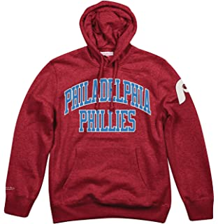 c4a42c8dc42 Mitchell   Ness Philadelphia Phillies MLB Playoff Win Pullover Hooded  Sweatshirt