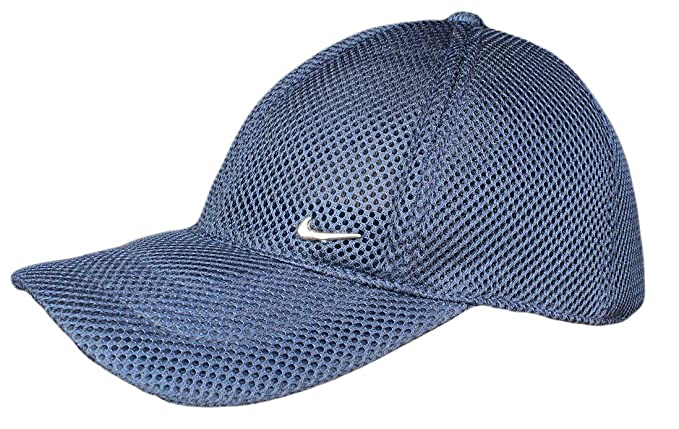 SDS Premium Cotton Net Blue BaseBall Cap  Amazon.in  Clothing ... 852cc183ba64