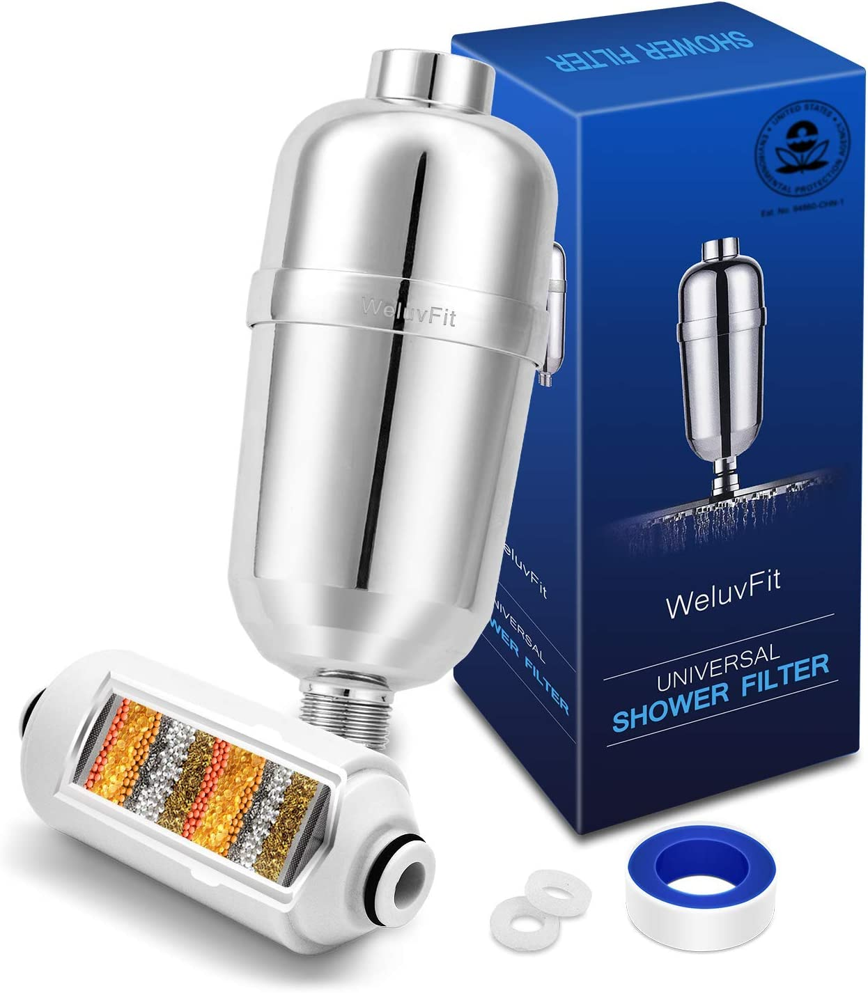 Amazon coupon code for Shower Filter Hard Water Softener