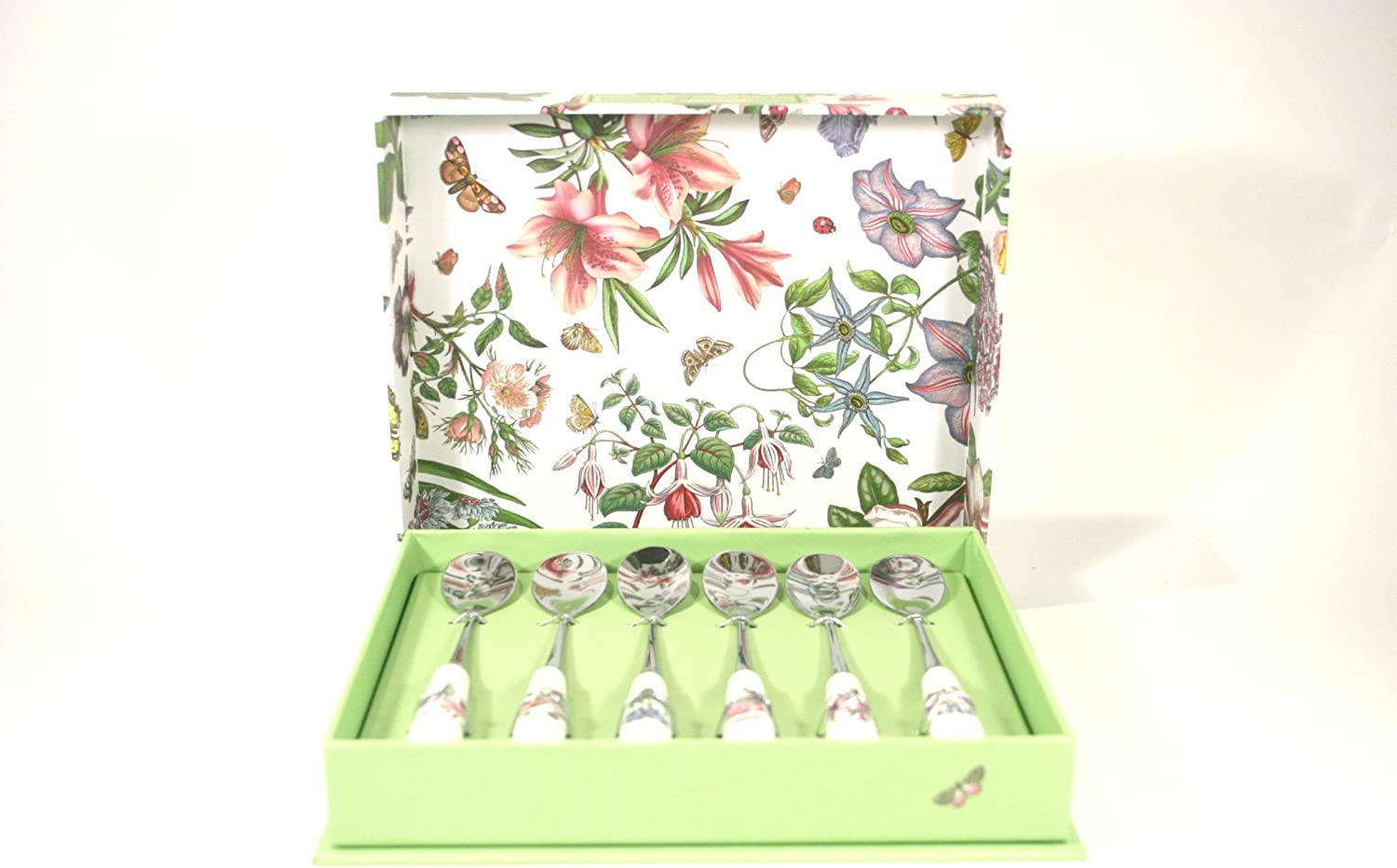 Portmeirion Botanic Garden Cutlery Tea Spoons - Set of 6