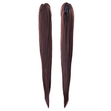 Amazon swacc straight claw clip ponytail extension synthetic swacc straight claw clip ponytail extension synthetic clip in ponytail hairpiece jaw clip hair extension pmusecretfo Choice Image