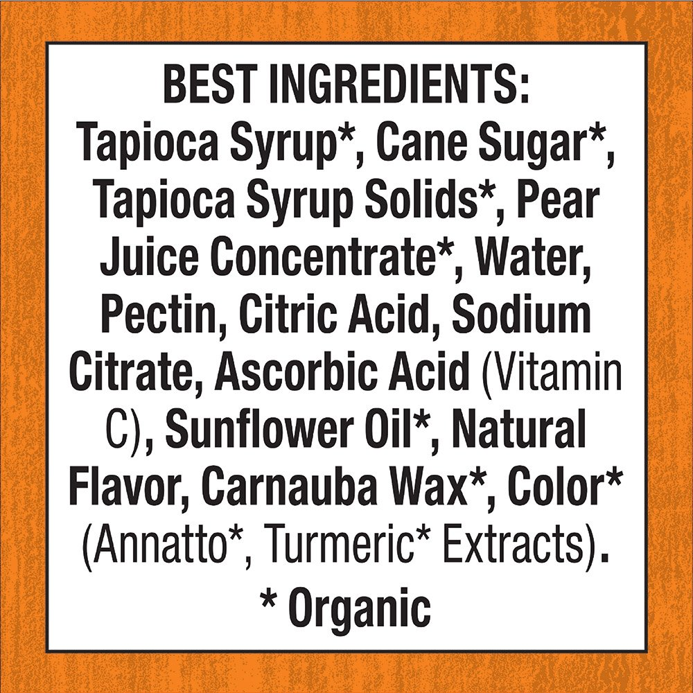 Annie's Homegrown Organic Bunny Fruit Snacks, Sunny Citrus, 25 Pouches, 0.8oz by Annie's Homegrown (Image #5)