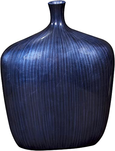 Howard Elliott 22076L Sleek Vase, Large, Cobalt Blue