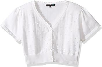 fcc6aa3c4e25 My Michelle Girls  Short Sleeve Cardigan Sweater