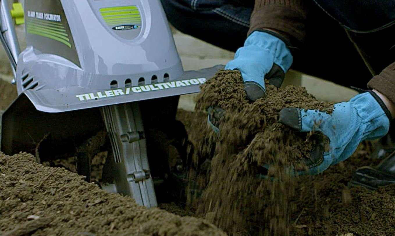 Earthwise TC70001 11-Inch 8.5-Amp Corded Electric Tiller/Cultivator by Earthwise (Image #4)