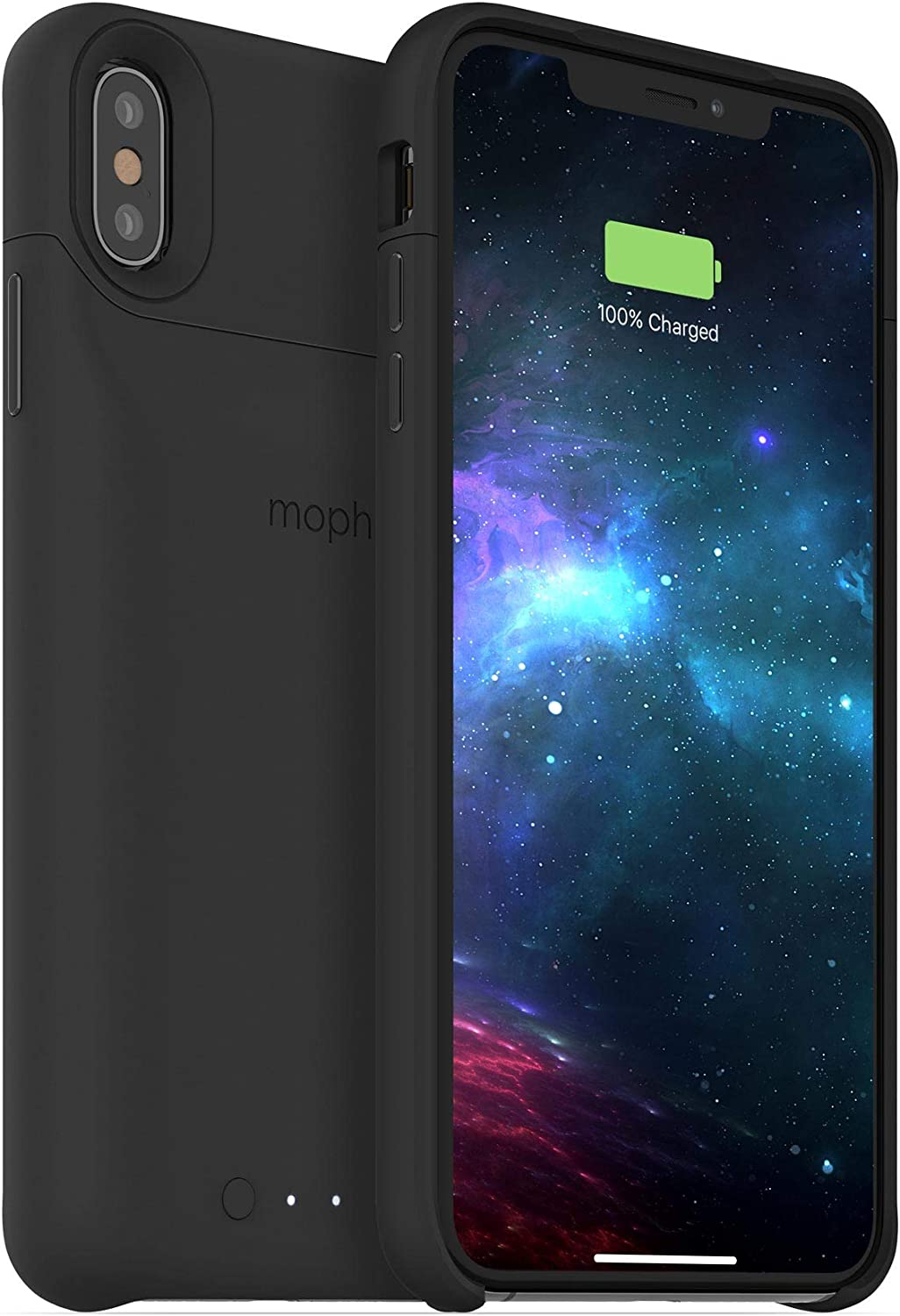 mophie Juice Pack Access - Ultra-Slim Wireless Battery Case - Made for Apple iPhone Xs Max (2,200mAh) - Black (401002835)
