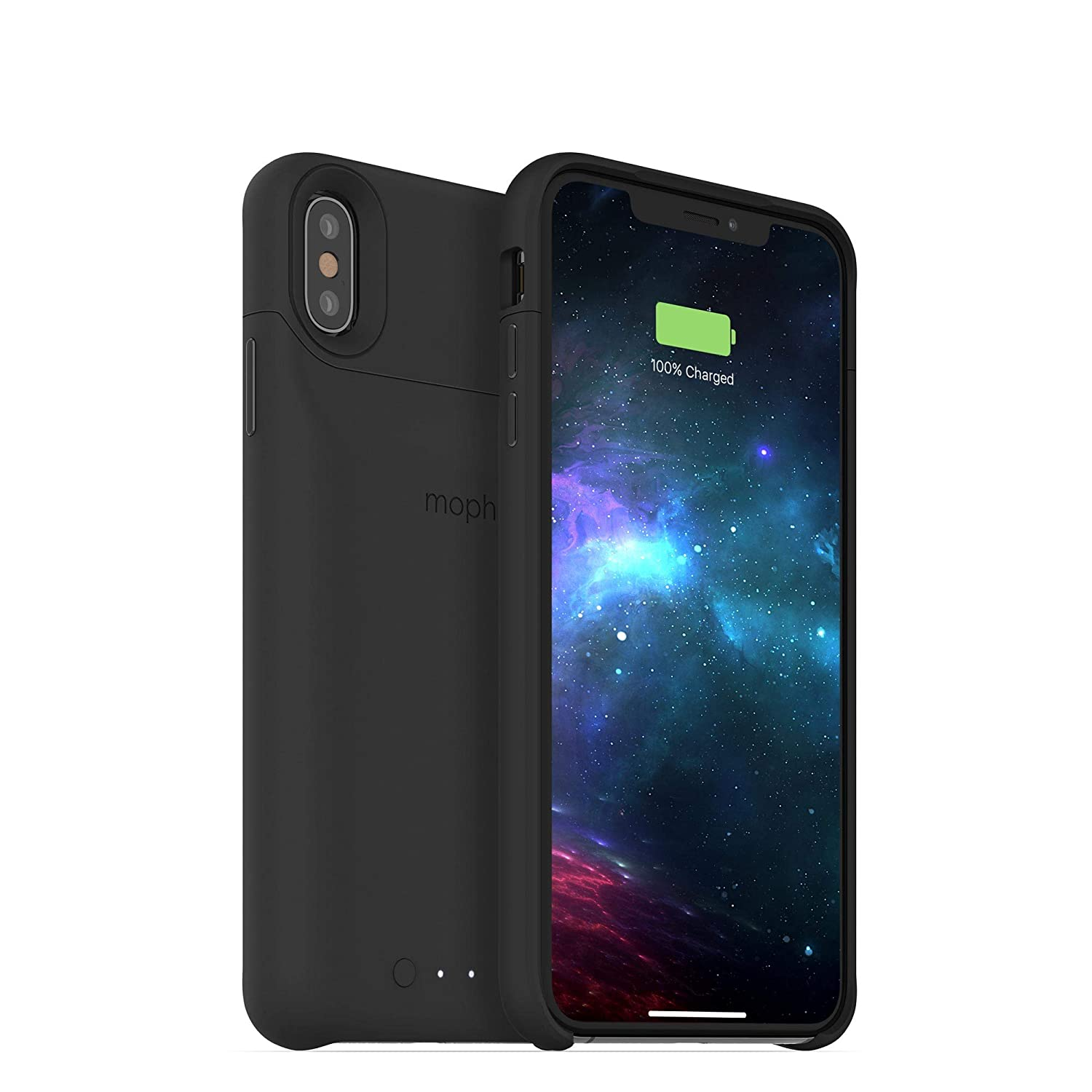 best website 45223 1bd2a mophie Juice Pack Access - Ultra-Slim Wireless Battery Case - Made for  Apple iPhone Xs Max (2,200mAh) - Black