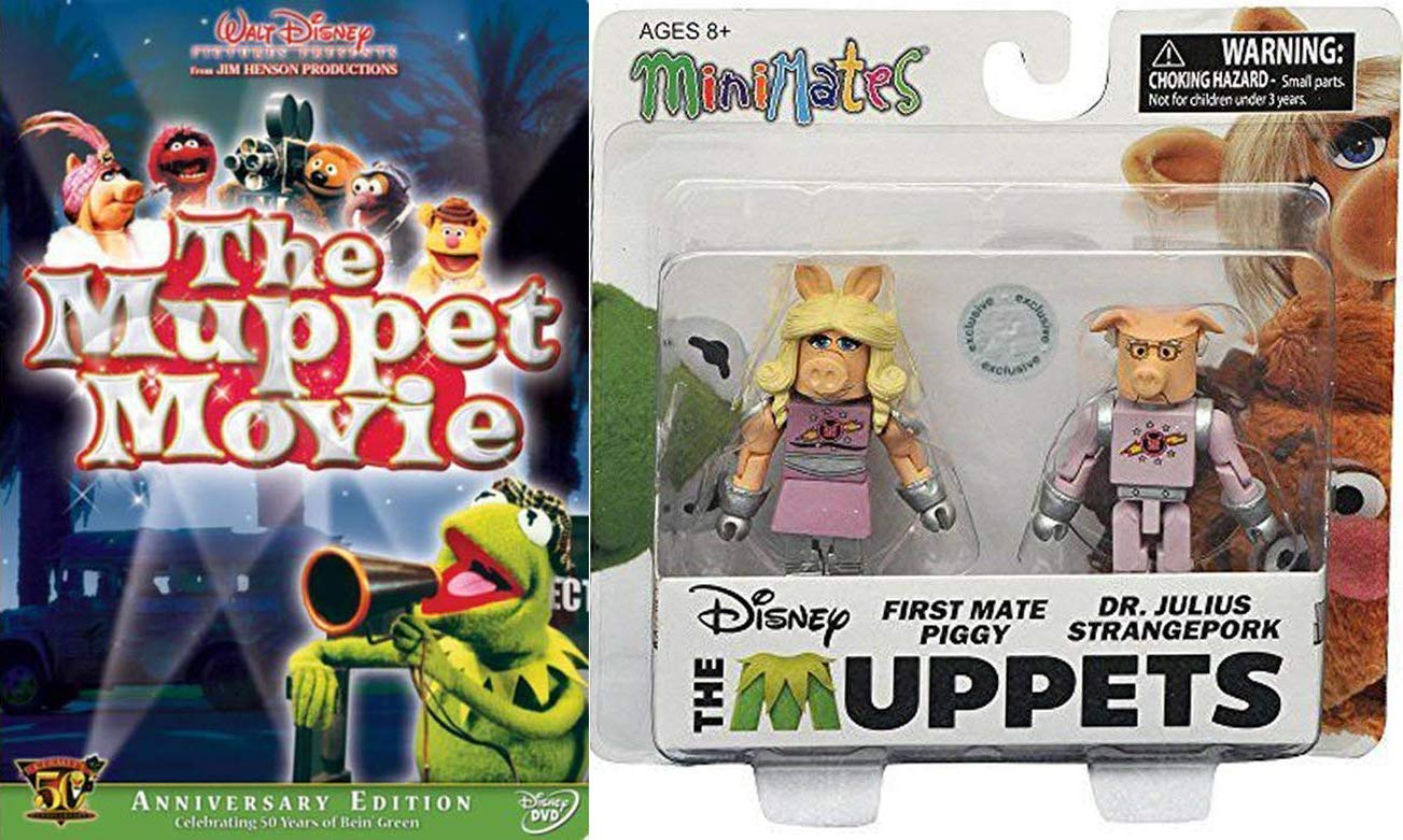 The Muppets Minimates Toys R Us Wave 2 First Mate Piggy /& Dr Julius Strangepork