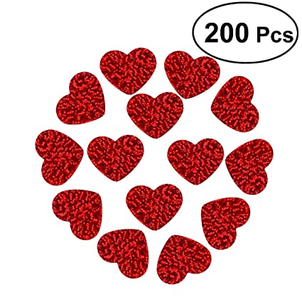Amazon Com Oulii Heart Confetti Scatters For Valentine S Day