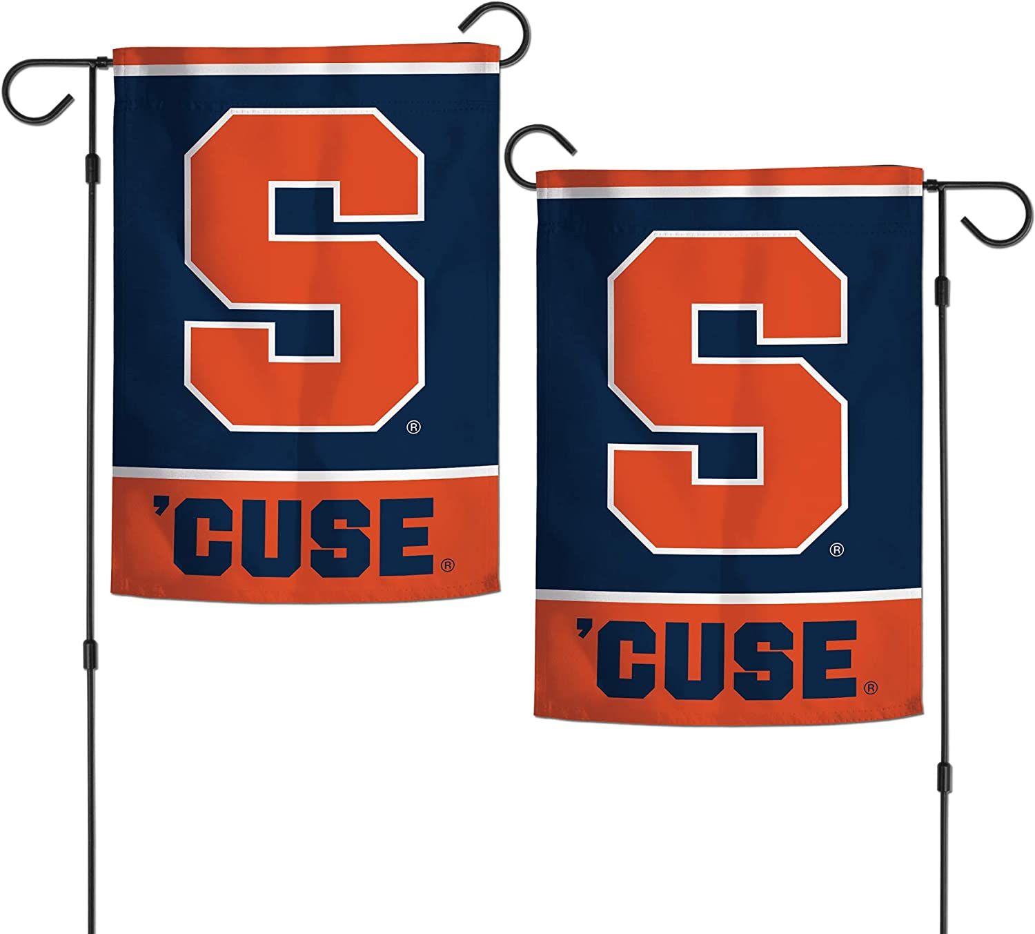 "WinCraft NCAA Syracuse University Orange 12.5"" x 18"" Inch 2-Sided Garden Flag Logo"