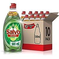 Salvo Limón Lavatrastes Liquido, 500 Ml (total 5 Litros)