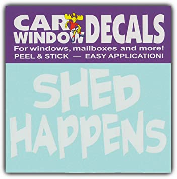 SHED HAPPENSI Love DogsStickers Cars Trucks Glass Car Window Decals