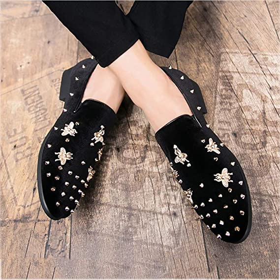 Amazon.com: 2018 Fashion Pointed Shoes, Casual Mens Shoes, Loafers & Slip-Ons Shoes,Youth Sets Foot Shoes, Lazy Shoes,Personality Nightclub Shoes,Hair ...
