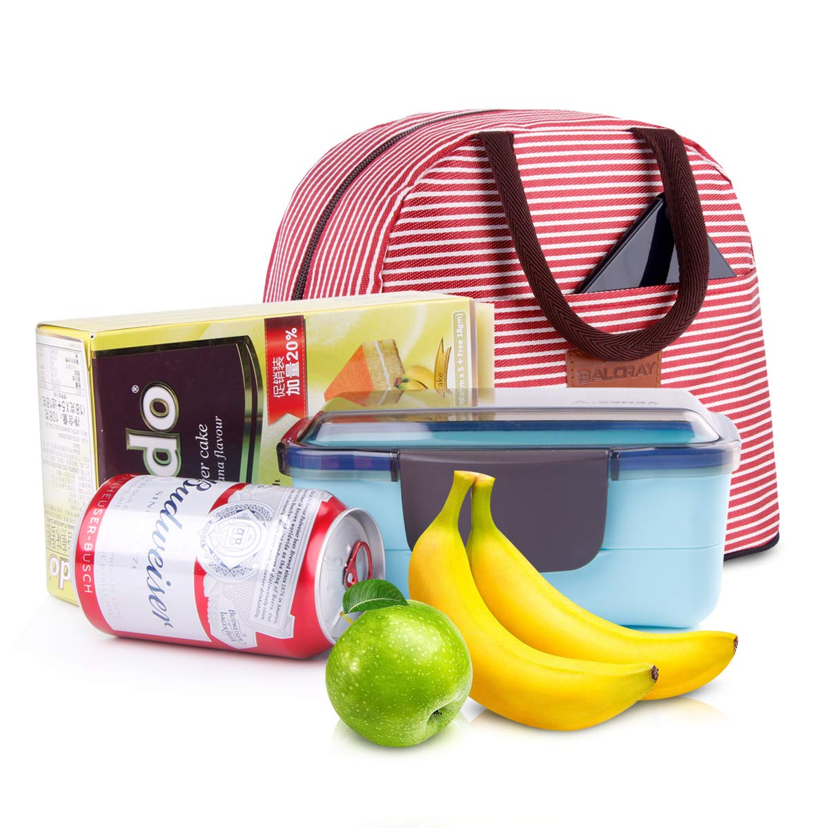 BALORAY Lunch Bag Tote Bag Lunch Bag for Students Lunch Box Insulated Lunch Container G-197S Fish